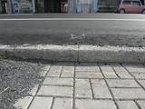 大町の通り道路かさ上げ 冠水対策