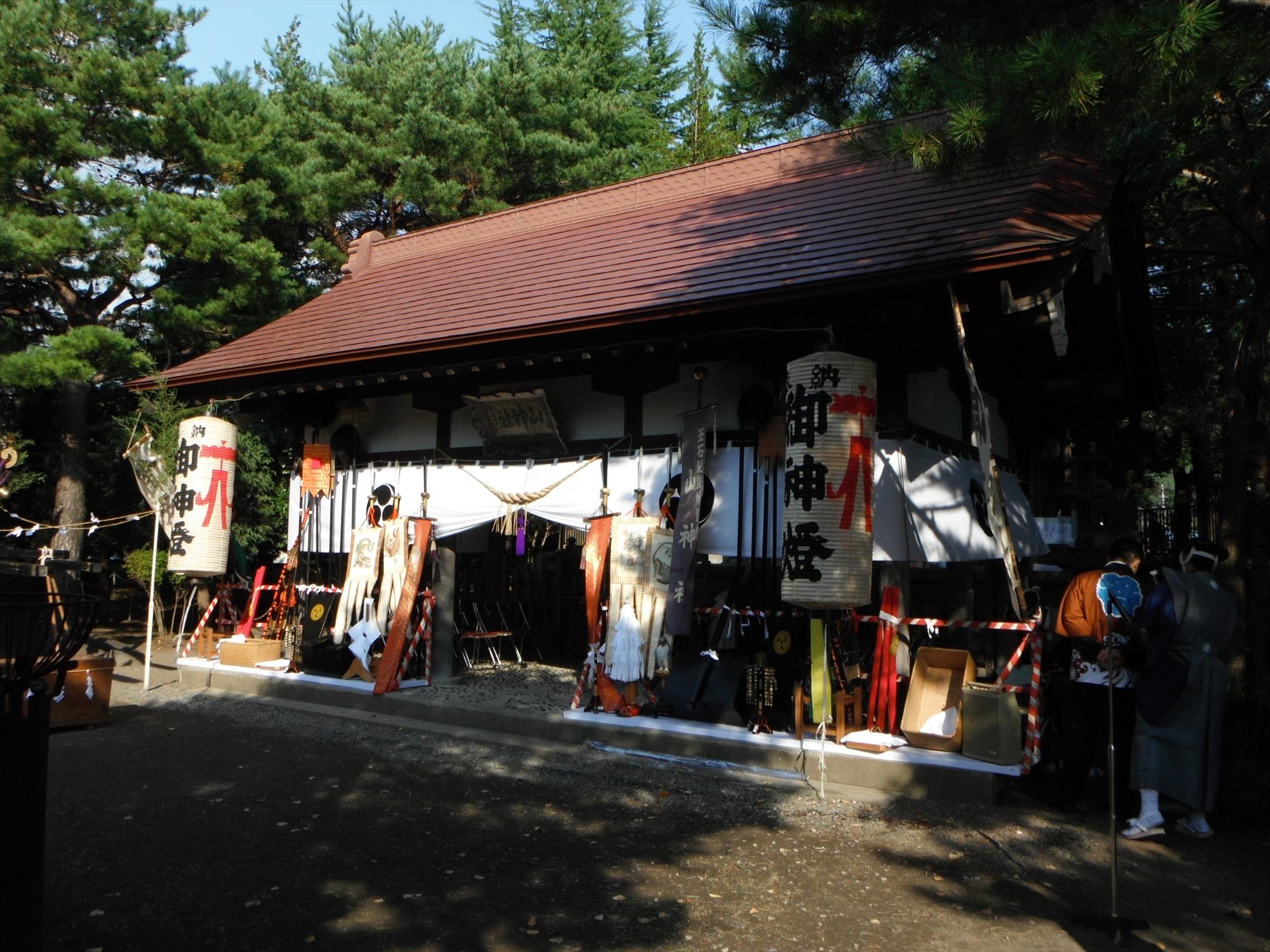 朝の山神社